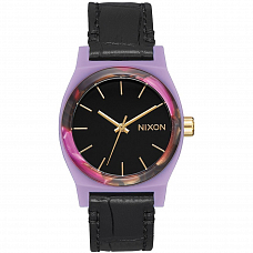 Часы NIXON MEDIUM TIME TELLER LEATHER A/S от Nixon в интернет магазине www.b-shop.ru