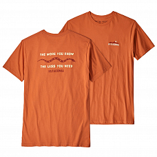 Футболка PATAGONIA M'S THE LESS YOU NEED ORGANIC T-SHIRT SS19 от PATAGONIA в интернет магазине www.b-shop.ru