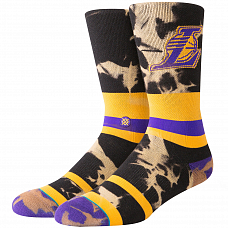 Носки STANCE NBA ARENA LAKERS ACID WASH FW19 от Stance в интернет магазине www.b-shop.ru