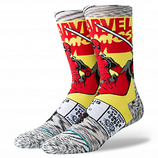 Носки Stance Disney Mens Deadpool Comic  FW20 от Stance в интернет магазине www.b-shop.ru